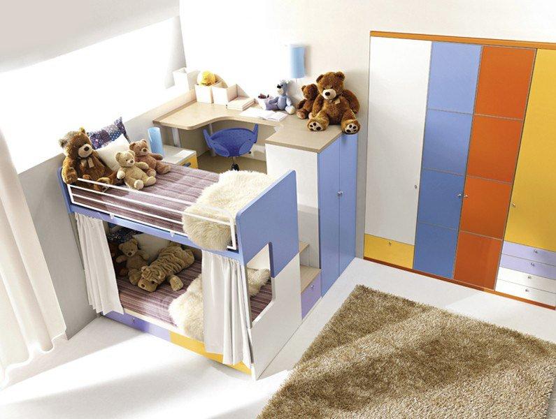 Camere da letto per ragazzi a Roma | Doimo City Line | Marini Home ...