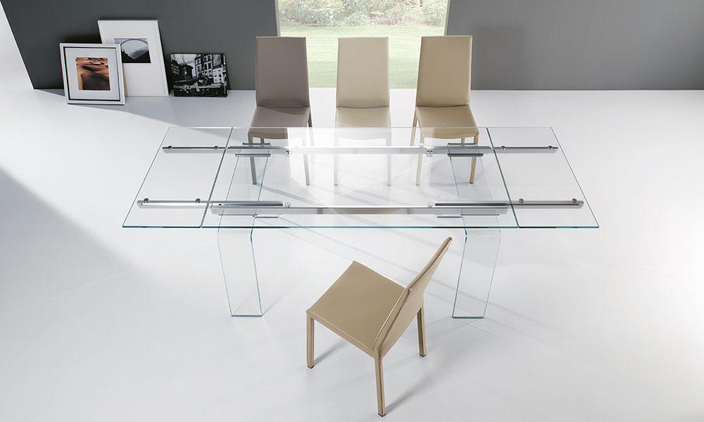 Tavoli Allungabili Design Vetro.Madie Tavoli E Sedie Riflessi Marini Home Design Rivenditore A